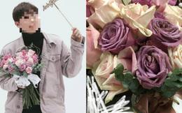 """Bỏ tiền triệu mua hoa tặng Valentine, chàng trai """"tái mặt"""" khi nhận hàng"""