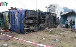 Hành khách kể lại vụ xe khách lao vào nhà dân ở Khánh Hòa