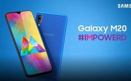Samsung Galaxy M20 chính thức ra mắt tại Việt Nam, màn hình giọt nước, camera kép, giá 4,99 triệu