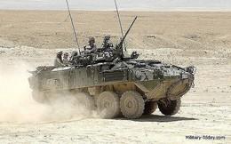 """[ẢNH] Lực lượng Hồi giáo Trung Đông bẻ gãy cuộc tấn công và tiêu diệt """"niềm tự hào của Mỹ"""" LAV-25"""