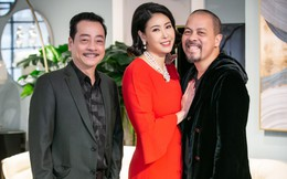 Hoa hậu Hà Kiều Anh và NTK Đức Hùng chụp ảnh tình tứ