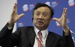 """Tỷ phú Nhậm Chính Phi: """"Mỹ không thể đè bẹp được Huawei"""""""