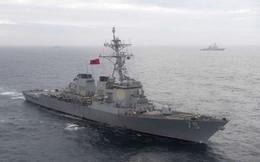 """Nga theo dõi """"nhất cử nhất động"""" của tàu khu trục Mỹ tại Biển Đen"""