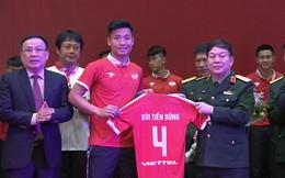 CLB Viettel xuất quân V-League 2019, Bùi Tiến Dũng làm đội trưởng