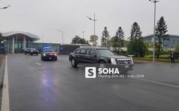 [NÓNG] Siêu xe Quái thú và đoàn xe hộ tống rời sân bay Nội Bài về nội thành Hà Nội