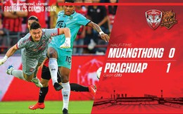 Đặng Văn Lâm thất bại trước quả 11m, MuangThong United thua khó tin đội chiếu dưới