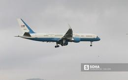 Chuyên cơ dự phòng của tổng thống Trump được C-17 hộ tống tới Đà Nẵng