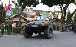 Công an Hà Nội triển khai xe bọc thép, Hummer chống đạn bảo vệ thượng đỉnh Mỹ - Triều