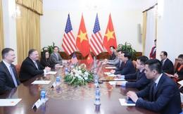 Phó Thủ tướng, Bộ trưởng Bộ Ngoại giao Phạm Bình Minh hội đàm với Ngoại trưởng Mỹ Mike Pompeo