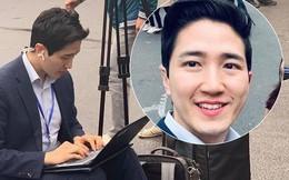 """Nam PV Hàn Quốc hào hứng khoe được lên báo Việt Nam sau 1 khoảnh khắc """"gây sốt"""" trên phố Hà Nội"""