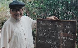 Ông bố và tấm biển trước cửa nhà ngày Tết khiến ai vào cũng phải chú ý
