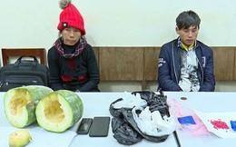Nhét ma túy vào quả bí xanh, đôi nam nữ bị bắt đúng đêm giao thừa