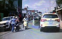 Tài xế ô tô đánh người phụ nữ chở con nhỏ giữa đường chưa tới trình diện
