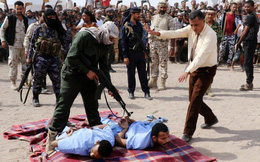 24h qua ảnh: Cảnh sát xử tử hai phạm nhân hiếp dâm bé trai ở Yemen