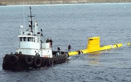 Giải mã chiếc tàu ngầm màu vàng bí ẩn của Hải quân Mỹ