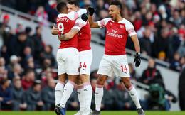 Vòng 30 Premier League 2018/19: Arsenal 2-0 Man United