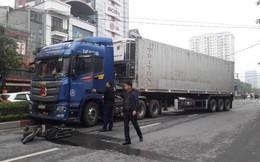 Người đàn ông chở đá lạnh lúc rạng sáng bị xe container kéo lê, cán tử vong