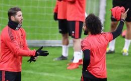 Ramos lại 'nổi điên', suýt đánh nhau với Marcelo