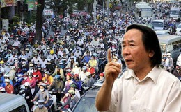 """TS Thủy: Hà Nội cấm xe máy đường Lê Văn Lương - Nguyễn Trãi """"hoàn toàn không khả thi"""""""