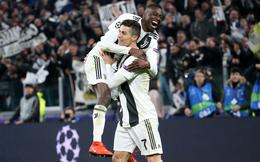 """Thông số """"hủy diệt"""" của Ronaldo trong ngày Juventus đánh bại Atletico Madrid"""