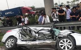 Vụ tai nạn đường sắt ở Hải Dương: Ô tô đang đi đám cưới về, 2 người đã tử vong