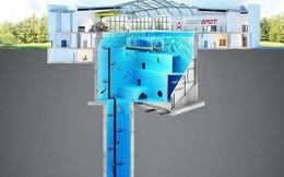 Sắp mở cửa hồ bơi sâu nhất thế giới, chứa 8000 mét khối nước, sâu 45m