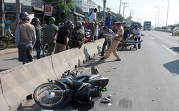 Tông vào xe ben đang qua đường, 2 thanh niên tử vong ở Bình Phước