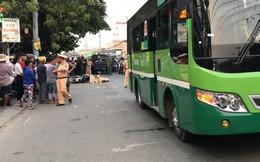 Phanh gấp tránh ô tô nên ngã ra đường, người đàn ông bị xe buýt cán tử vong