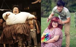 Sao nữ béo nhất Trung Quốc: Được Châu Tinh Trì lăng xê, lấy chồng đẹp trai
