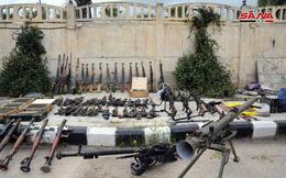 """Quân đội Syria tiếp tục thu hoạch vũ khí trang bị của """"quân nổi dậy"""" ở Daraa"""