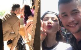 """Hiệp Gà đăng ảnh hôn môi hot girl nóng bỏng sau khi công khai """"thả thính"""""""