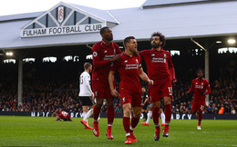 Vòng 31 Premier League: Fulham 1-2 Liverpool
