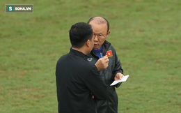 Quang Hải báo tin vui cho thầy Park, Đình Trọng lại vắng mặt