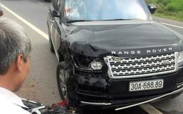 Xe sang Range Rover tông hai vợ chồng đi xe máy thương vong ở Hưng Yên