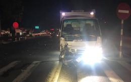 Say rượu chạy xe máy lấn làn, nam thanh niên tử vong khi tông trực diện vào xe tải