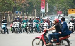 Sẽ cấm xe máy vào giờ cao điểm trên 6 tuyến phố Hà Nội