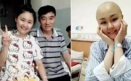 Cảm động người cha từ bỏ điều trị ung thư để cứu con gái