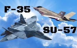 """Su-57 vs F-35: Tiêm kích Nga hay Mỹ xứng đáng giữ ngôi """"Chiến đấu cơ tốt nhất thế giới""""?"""