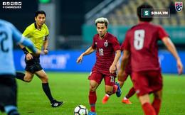 Thái Lan thảm bại trước Uruguay sau 90 phút vắt kiệt sức