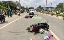 Hai xe máy lao vào nhau khiến 1 người chết, 3 bị thương