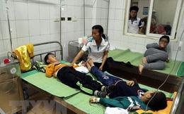 Tình trạng sức khoẻ của 44 học sinh ăn nhầm bột thông bồn cầu