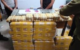 Bắt nhóm người Lào mang lô ma túy trị giá hàng chục tỷ đồng vào Việt Nam