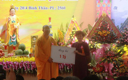 Bí thư Quảng Nam lên tiếng về dự án xây chùa Ba Vàng: Hình ảnh tài trợ chỉ là tượng trưng