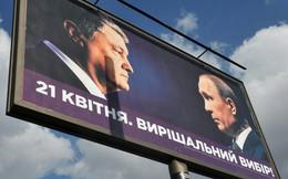 """Ông Poroshenko vi phạm pháp luật Ukraine, """"trưng dụng"""" hình ảnh ông Putin làm vũ khí tranh cử"""