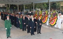 Hình ảnh các vị lãnh đạo viếng Trung tướng Đồng Sỹ Nguyên