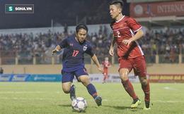 Hai lần rơi nước mắt và cú sốc đầu đời của chàng trung vệ thép U18 Việt Nam