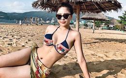 Cận cảnh vẻ nóng bỏng của hot girl Trâm Anh