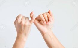"""""""Đọc vị"""" tính cách người khác chỉ qua hình dạng ngón tay út"""