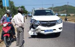 Ô tô CSGT va chạm với xe máy khiến ông lão 63 tuổi tử vong