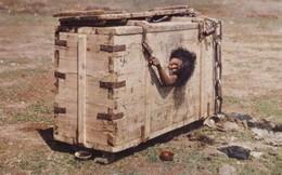 Ảnh người phụ nữ Mông Cổ bị nhốt trong cũi đến chết vì tội ngoại tình